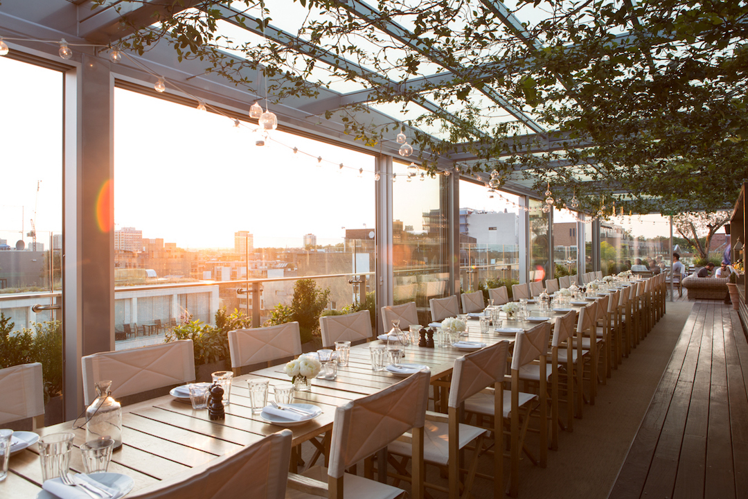 Boundary rooftop - Long Table