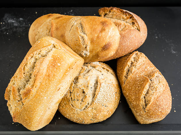 micro padaria, pão