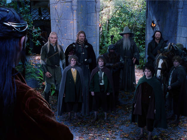El señor de los anillos, películas basadas en libros,  J. R. R. Tolkien.