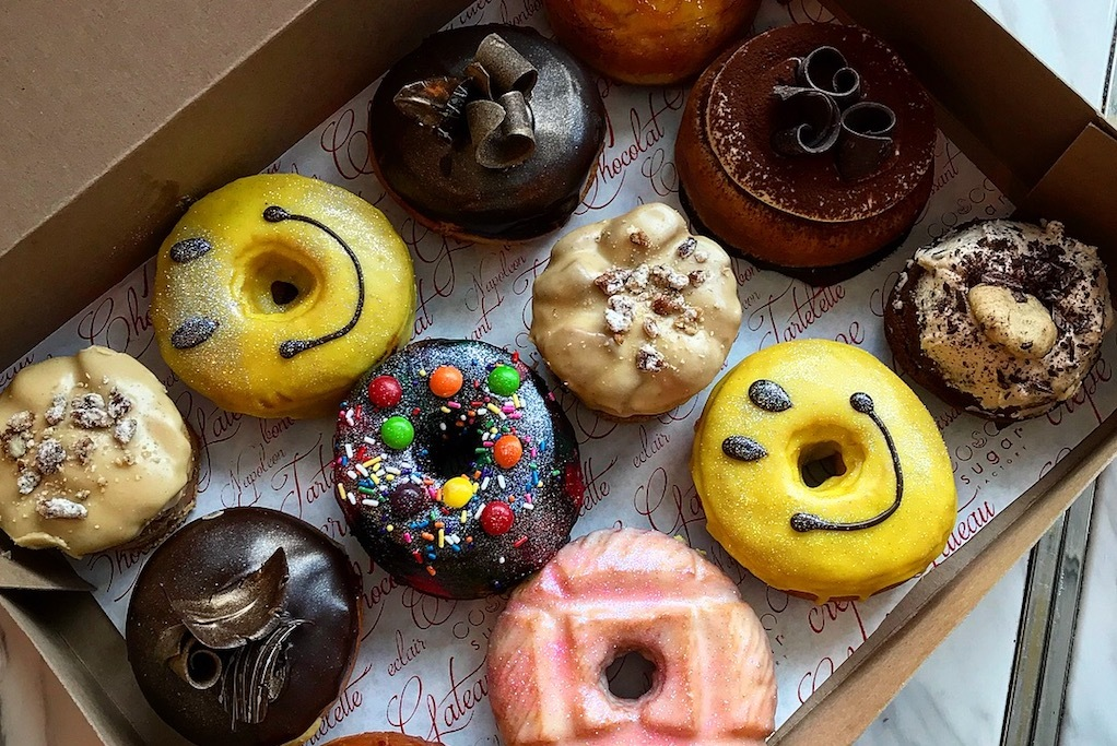 Happy Place doughnuts