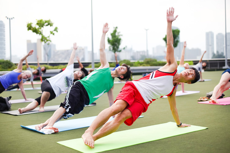 Where to work out for free in Singapore
