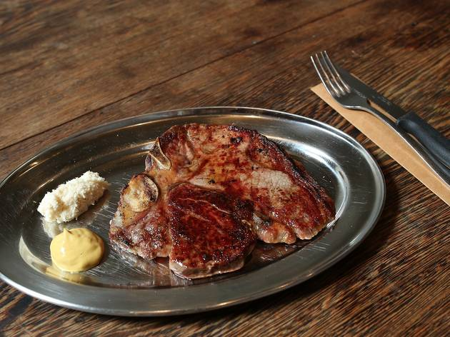 Steak at Butchers Dinner Melbourne