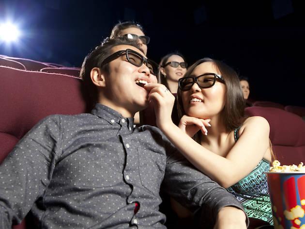 Loveseats in the cinema