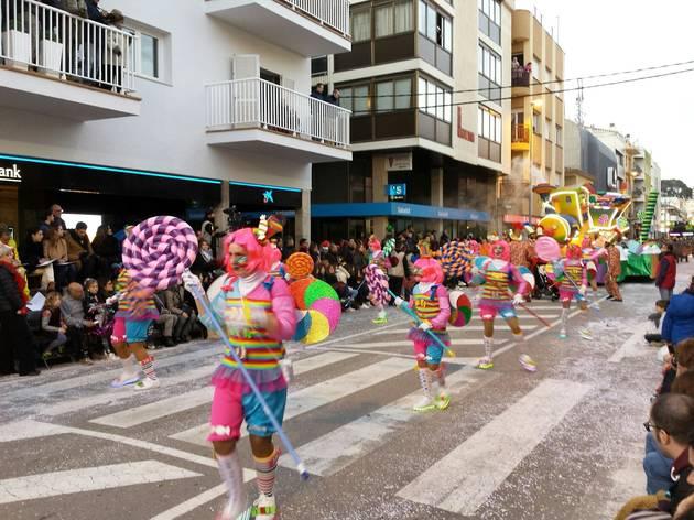 Grandiosa rua de Palamós