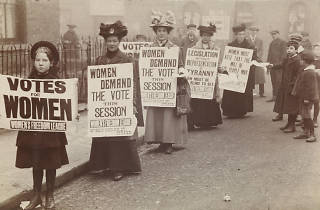 'Votes For Women' exhibition at the Museum of London