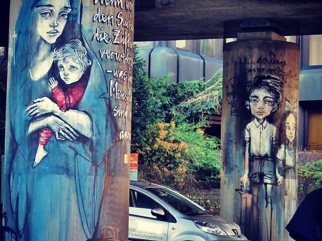 Keep an eye out for street art