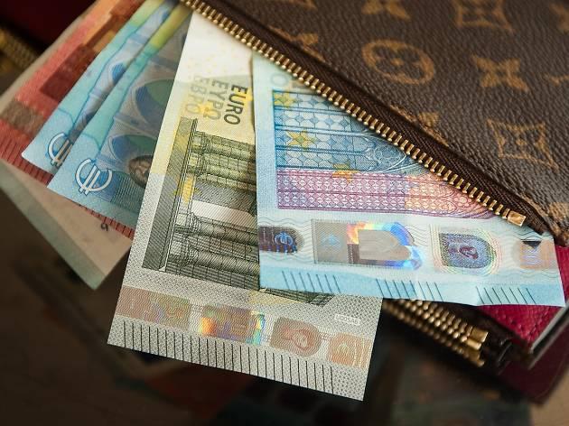Carry cash