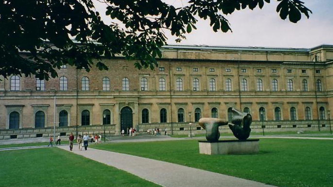 Die Pinakotheken: Alte and Neue Pinakothek and Pinakothek der Moderne