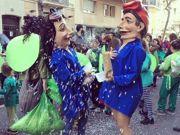 Rua de l'Esquerra de l'Eixample Carnaval