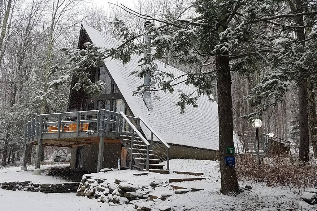 15 gorgeous Airbnbs for ski getaways from NYC