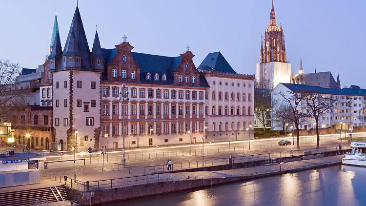 View from the Eiserner Steg, Frankfurt