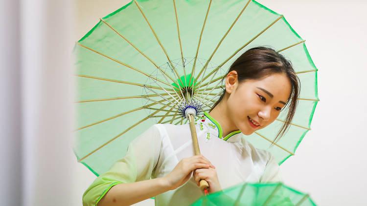 CNY Umbrella Dance