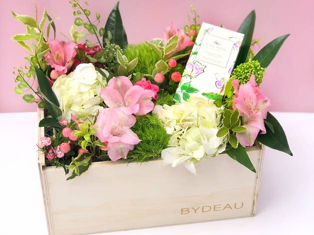 Bydeau flower box