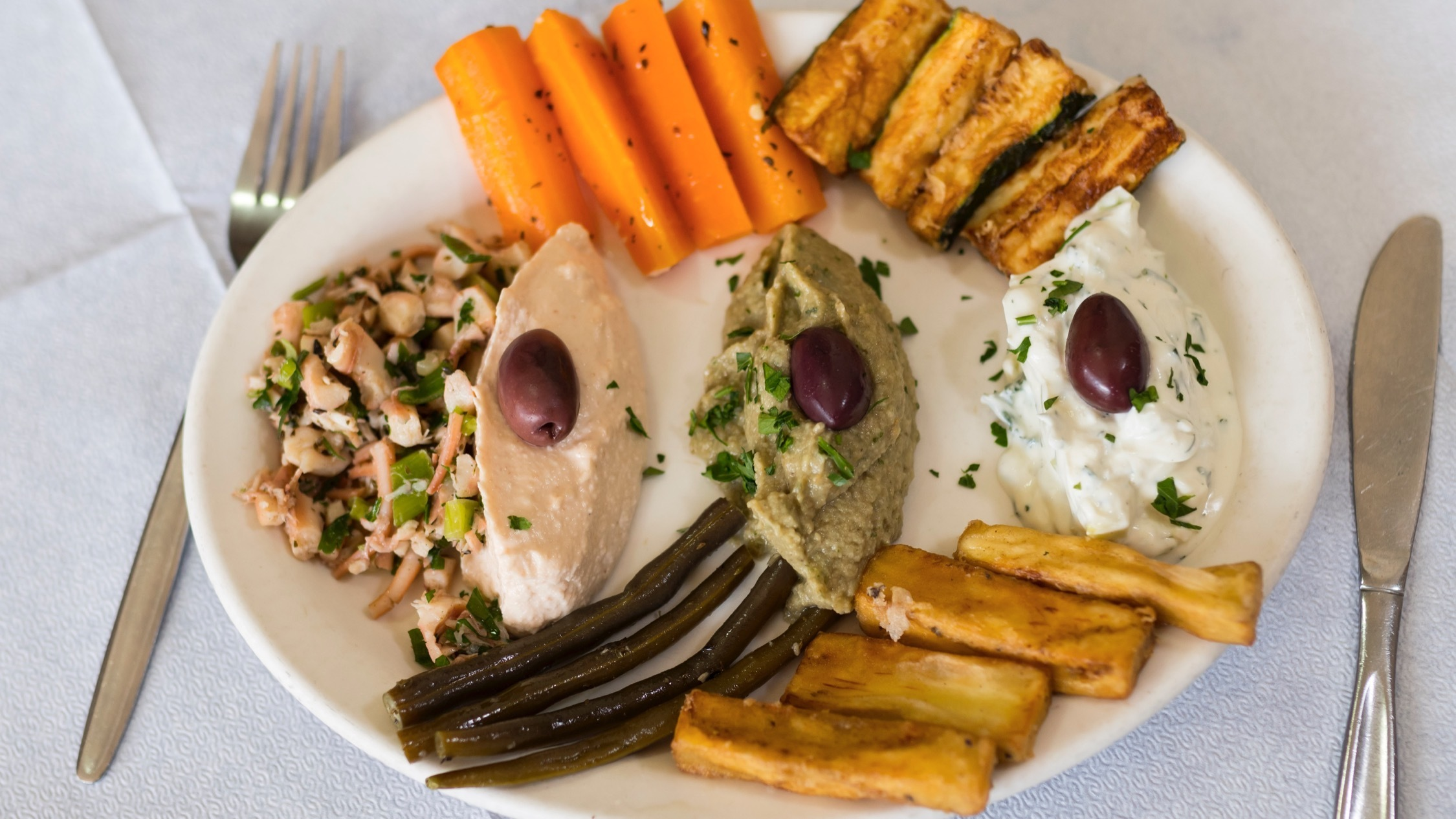 Food at Jims Greek Tavern Melbourne