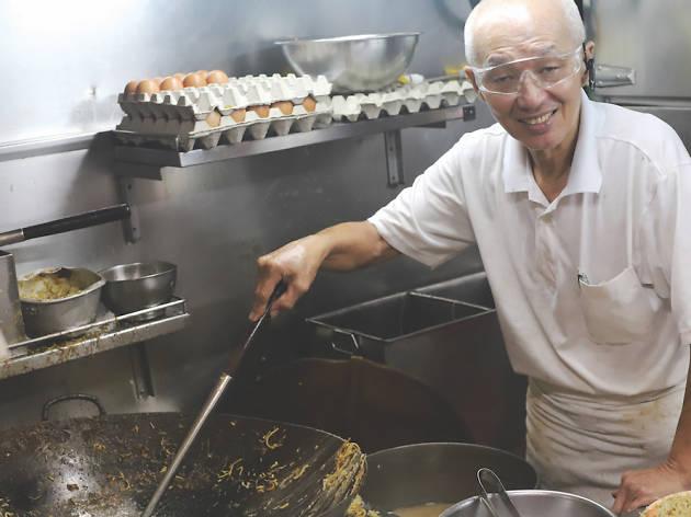 Tiong Bahru Yi Sheng Fried Hokkien Prawn Mee
