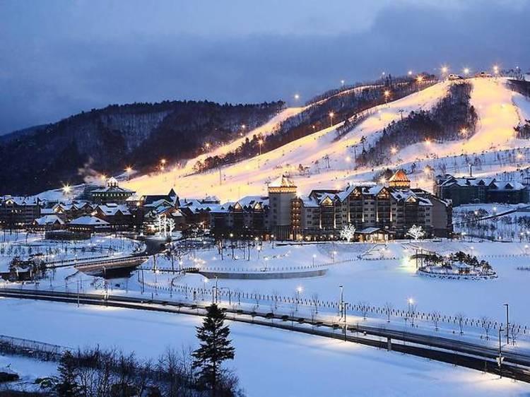 Alpensia Resort, Pyeongchang, South Korea