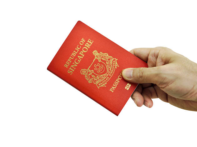 Because of our passport