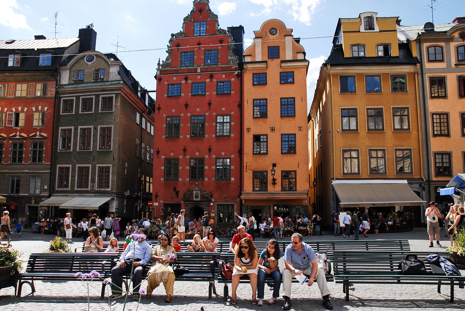Sip a hot chocolate in Stockholm's oldest square