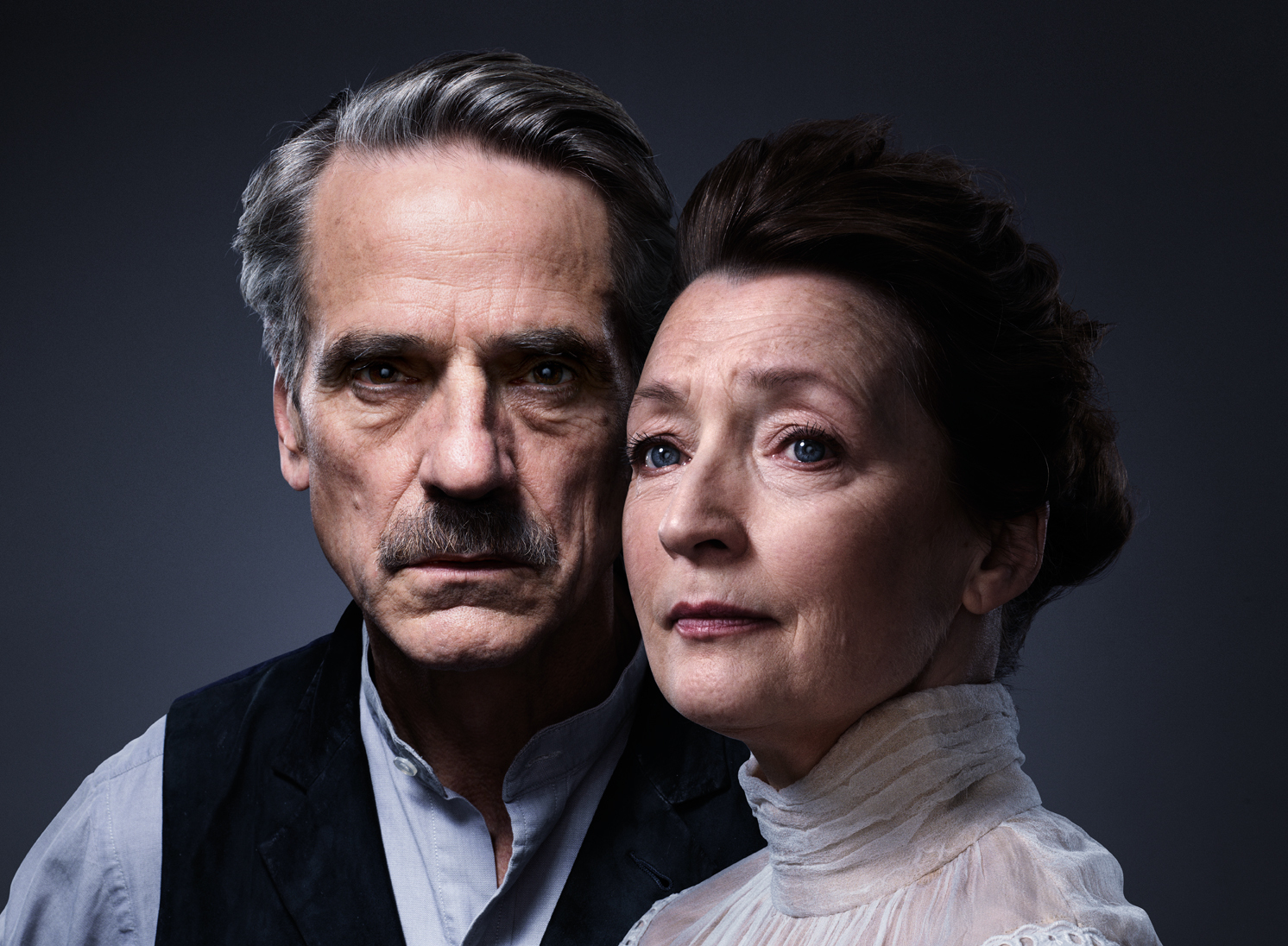 Jeremy Irons and Lesley Manville on 'Long Day's Journey Into Night'