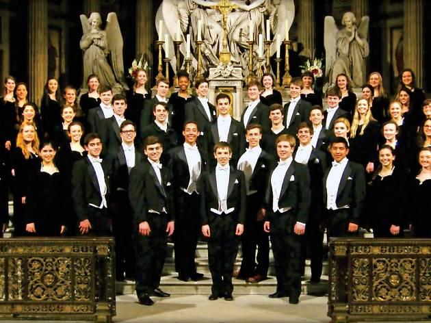 Grosse Pointe South High School choir