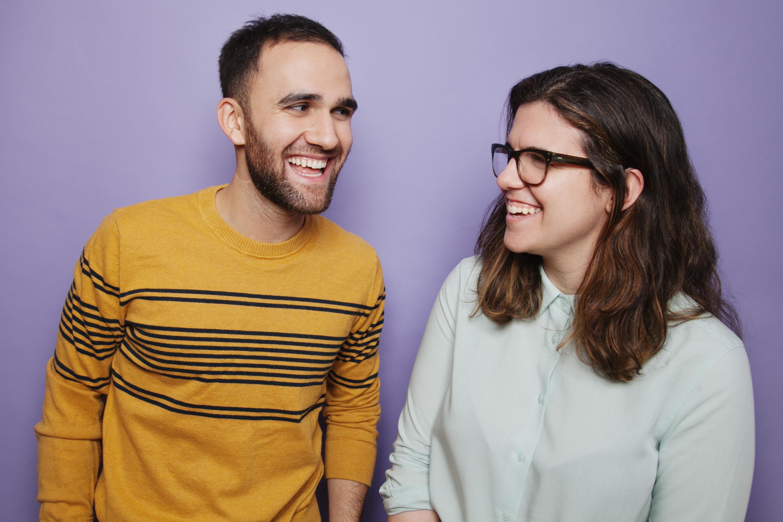 Yotam Tobul and Lisa Franklin
