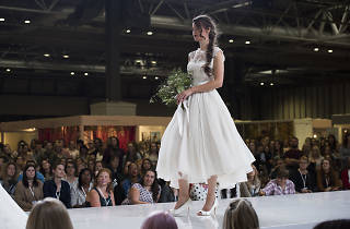 The National Wedding Show catwalk