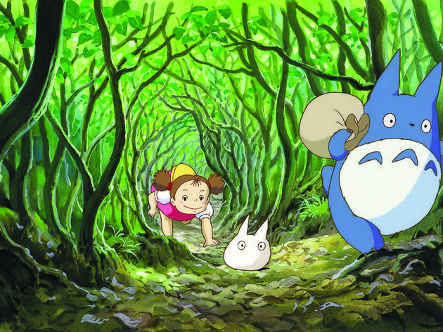 Midwinter Recess: My Neighbor Totoro and Drop-in Workshops