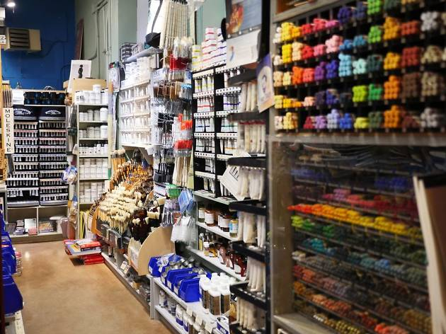 Best Art Stores In Nyc For Painting And Craft Supplies