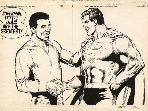 DC Exhibition: 'Dawn of the Super Heroes'