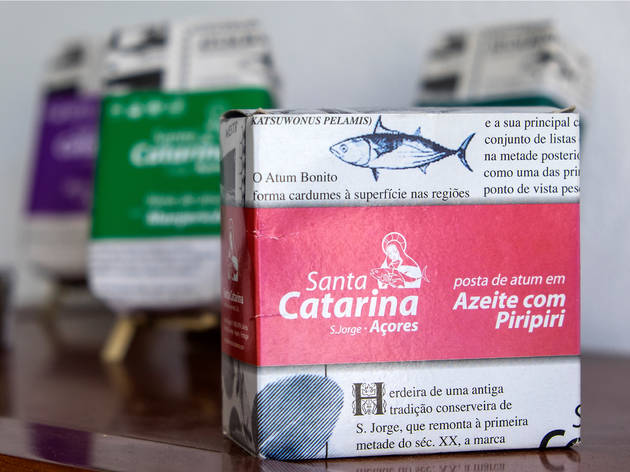 … And the legendary Azores tuna straight from the factory that puts it in the tin
