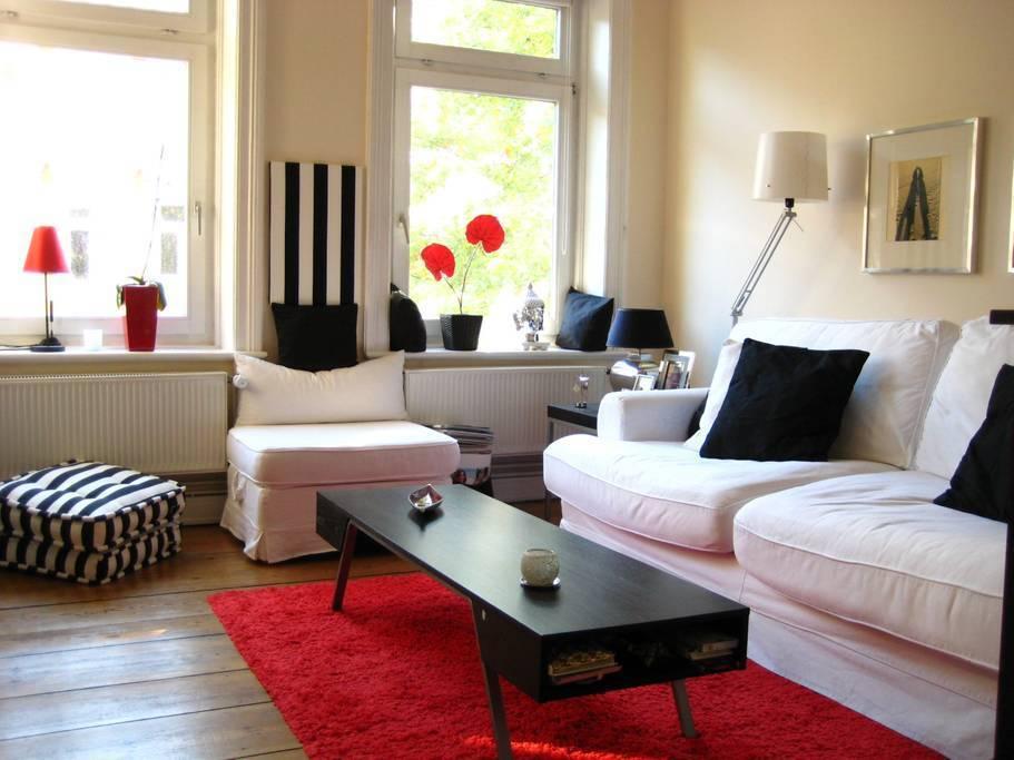 Renovated apartment in Ottensen
