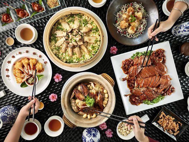 Five Sen5es Chinese New Year menu