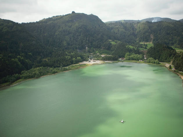Dip your toes in Lagoa do Fogo