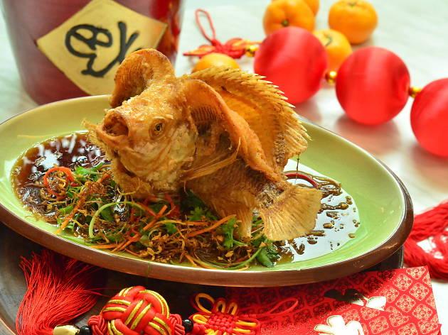Dancing Fish Chinese New Year set menu