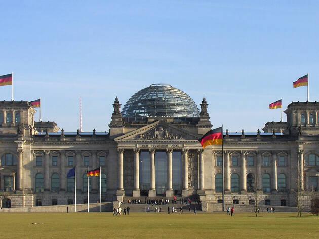 Berlin tours Bundestag