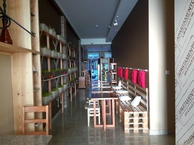 Apartamento café & snack bar