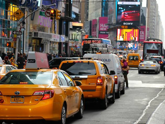 NYC is home to the most-congested street in the entire country