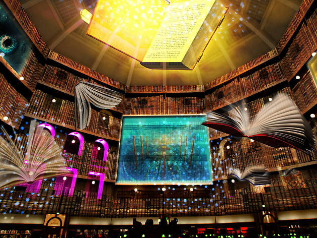 White Night Melbourne 2018 The Secret Life of Books photo credit: supplied