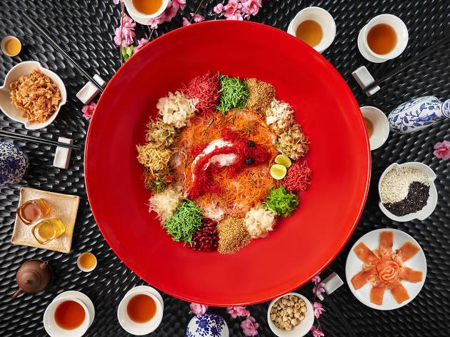 Five Sen5es Chinese New Year yee sang