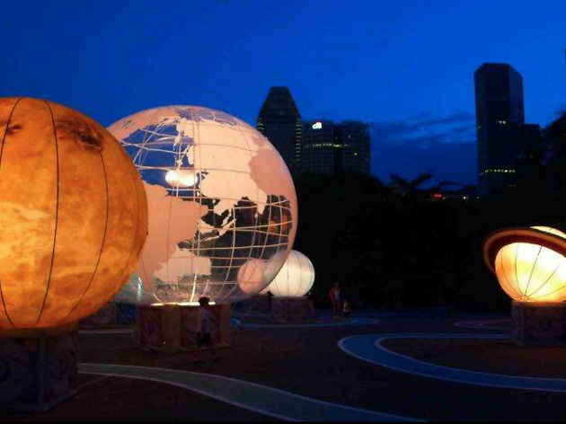 La Terra Al Centro Dell' Universo White Night Melbourne 2018 photo supplied