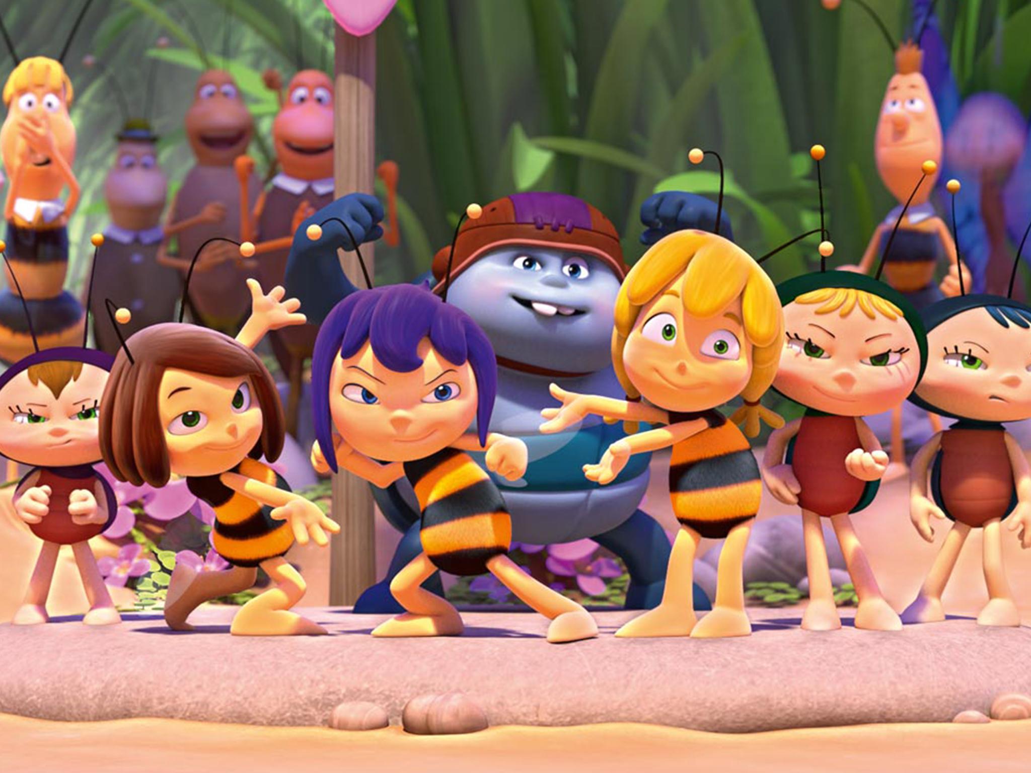 La abeja Maya: Los juegos de la miel