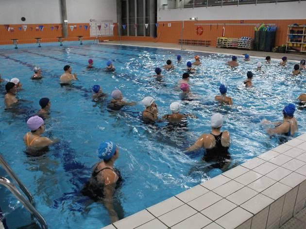 piscina campo de ourique, hidroginastica
