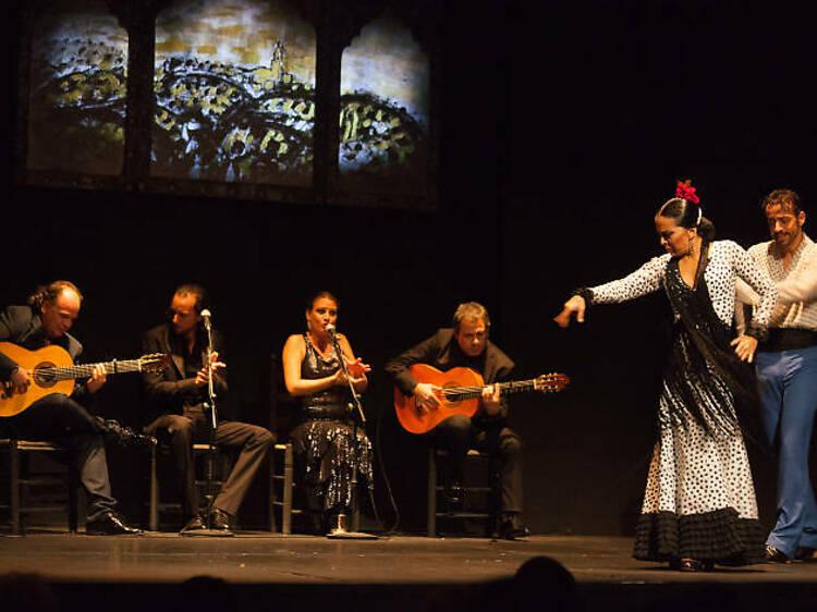 Un San Valentín muy flamenco