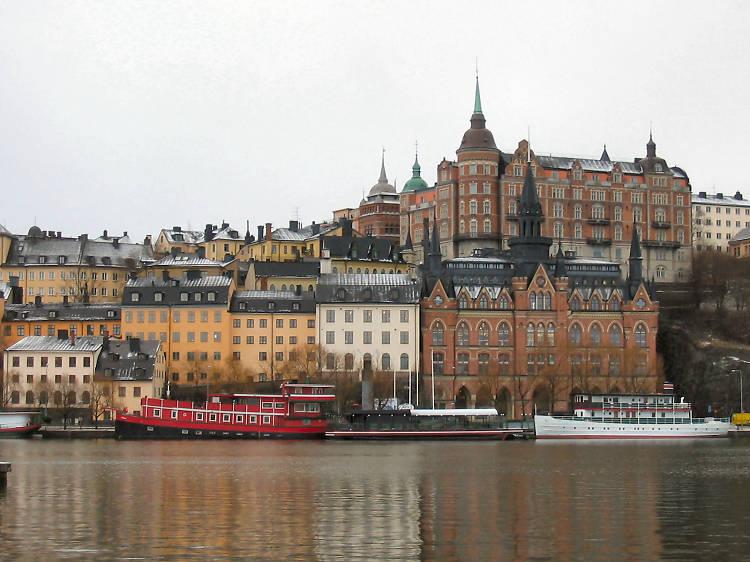 The views from quaint, cobbled Södermalm