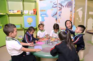 Club de lectura en el Papalote Museo del Niño