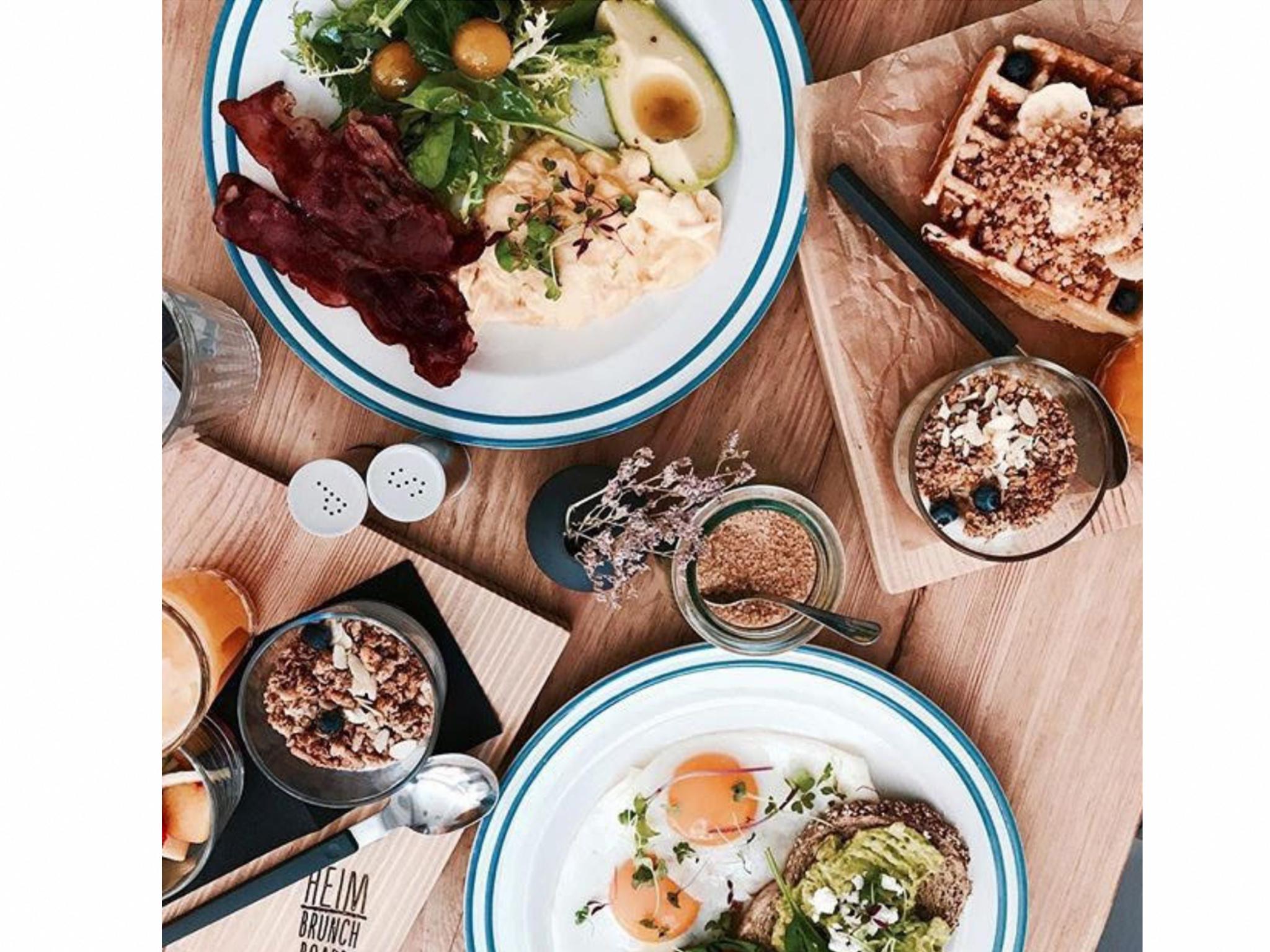 Restaurante, Heim Café, Brunch