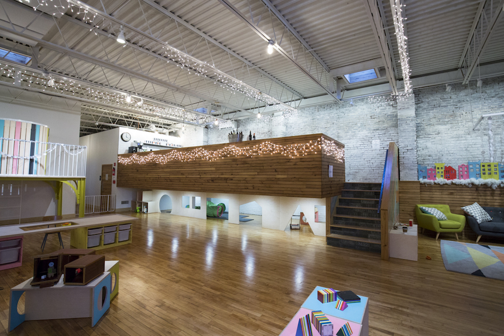 PlayArts is an indoor play space for kids in Philadelphia