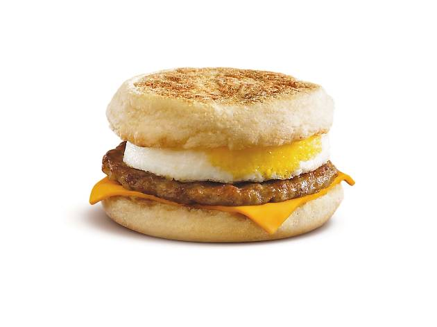 Sausage Egg McMuffin