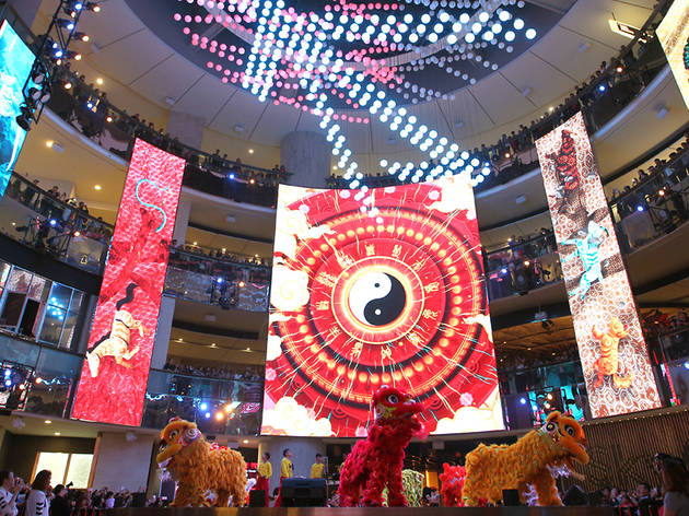 Resorts World Genting lion dance