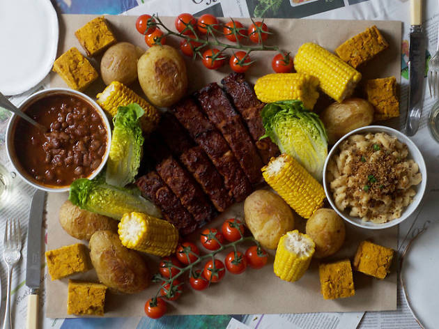 Ultimate Vegan Ribs Feast